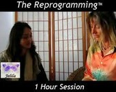 Single 1 Hour The Reprogramming Session, Report - 1 Hour Therapy Healing Session on Stress etc.& Report -  with Jelila