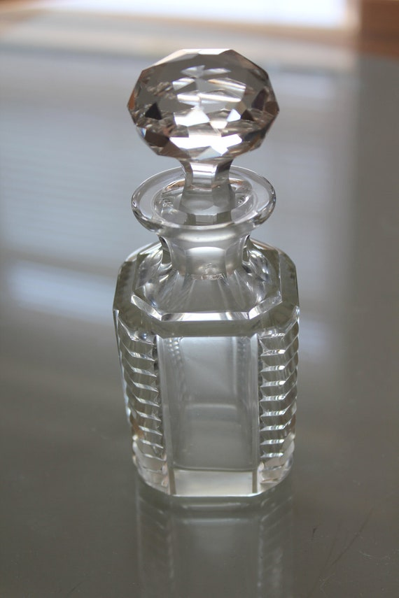 Vintage small bottle with stopper