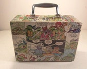 Custom Order - Lunch Box - Purse - Upcycled Vintage Comics