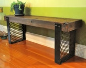 the HARGROVE Reclaimed Wood Bench