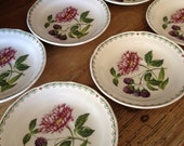 "Reserved for Ag1/ 6 Vintage Spode Saucers in"" Victoria"" Pattern"