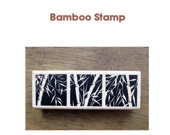 Bamboo Rubber Stamp **