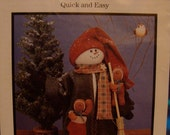 Fabricraft Recycled Snowman pattern