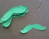 Mustache Paper Cut-out