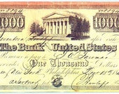 Bank of the United States Bank Notes