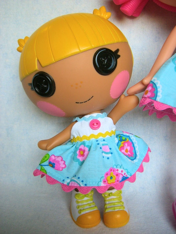 Lalaloopsy  Littles - Little Sister Dress - Summer City