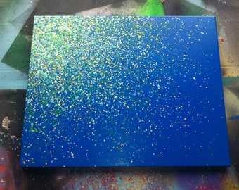 "16""x20"" Paint Splatter Canvas"