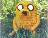 Jake the Dog  Amigurumi (Adventure Time)