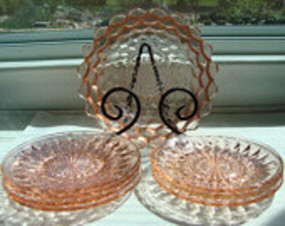 8-Piece Jeanette Glass Company Depression Glass - Serving