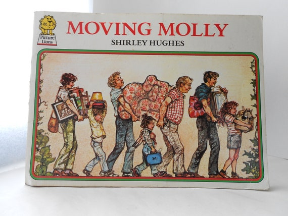 Moving Molly - Vintage Children's Book - Moving House
