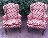 RESERVED for Shawntel - CUSTOMIZE - Debbie Chairs, Set of 2