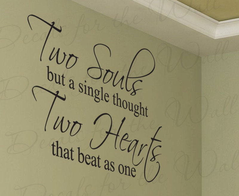 Two Souls But Single Thought