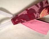 Toddler Girl Headband . Girl Headband . Pink Headband .Valentines Gift . Girls Reversible Headband . Pink and Purple
