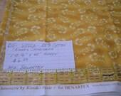 "015 Destash:  ""Kimiko's Chinoiserie""  1 Yard 16 Inches  Cotton Fabric by Benartex."