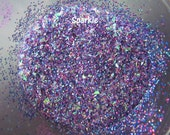 Raw Glitter Mix for Nails: Sparkle