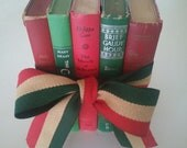 Book Set-Red/Green