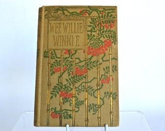 Vintage Wee Willie Winkee Book by Rudyard Kipling c. 1901