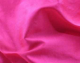 1/2 yard Fushia Satin Fabric / Pink Satin Fabric