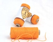 Spool of Austrian Linen Thread, Orange