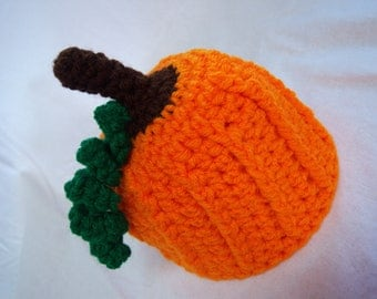 Pumpkin Hat - Newborn