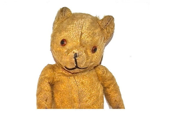 Vintage Mohair  Teddy Bear that is Well Loved and in need of a Good Home