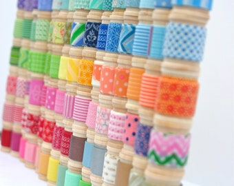 Washi Tape Assortment - you select patterns - 32 yards of your choice (96 feet)
