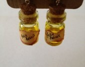 Felix Felicis LIQUID LUCK Potion Bottle Earrings