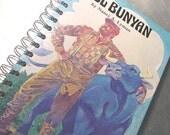 JOURNAL Altered Book - Notebook- PAUL BUNYAN - children's book journal recycled book