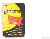FREE SHIPPING - Junior Jamboree by Jonathan Barrow - A One Volume Library of Fun and Entertainment for Boys - Hardcover Book - 1951
