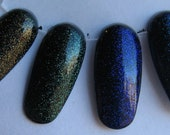 Din Farore Nayru Companion Fairy Color Shifting Sparkle Glitter Top Coat Set Custom Nail Polish 15mL each