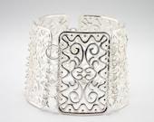 ORNAMENTZA Series Filigree Cuff Bracelet - Free Shipping Worldwide