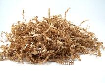 Shredded Paper - 16 oz Kraft Brown Paper Shred - Krinkle Paper Filler - Packing Material