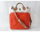 Garrison Bag (Natural/Flame)