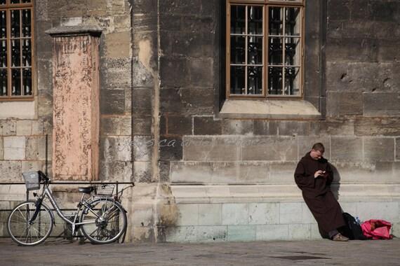 """Viennese Monk - 12 x 18"""""""