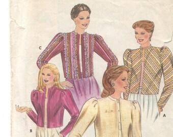 Vintage jacket pattern Butterick 4130