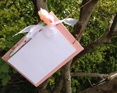 Handmade Shabby Chic, Country Cottage, Kitchen Shopping List, Office Memo Pad