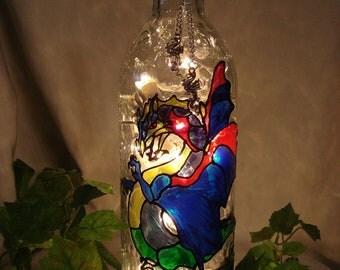 Dragon Wine Bottle Lamp