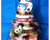 CUSTOM DIAPER CAKES - Great for baby shower - Please read all before purchasing