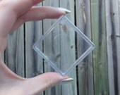 2 inch Clear Square (2) Boxes - Small Gift Box See Through