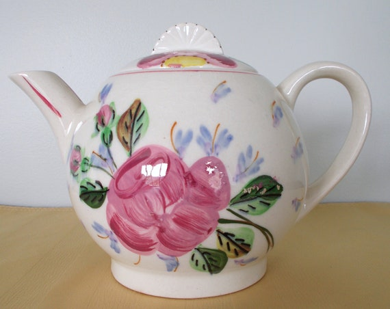 "Blue Ridge ""Christy"" Teapot"