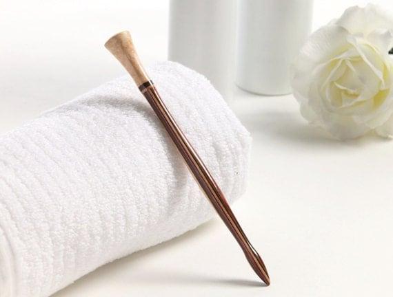 Hair Stick - Maple - Striped Birch