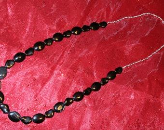 Simple Black Necklace