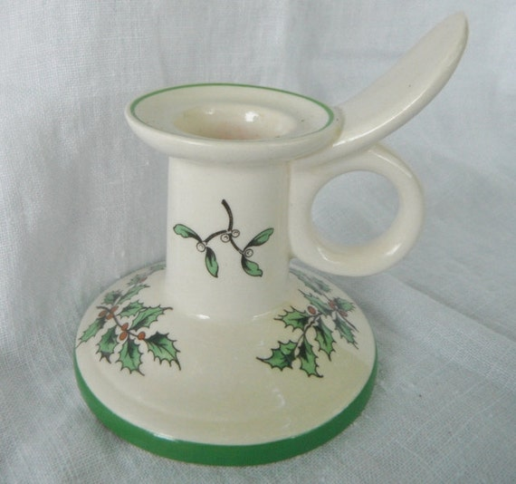 Spode Christmas Tree Candle Holder: SPODE CHRISTMAS Tree Candle Holder