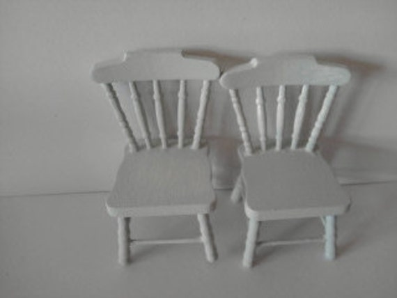 doll house chairs green