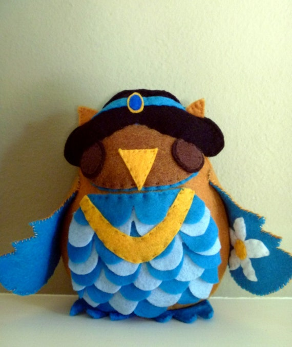 Aladdin Princess Jasmine Inspired Owl Plush