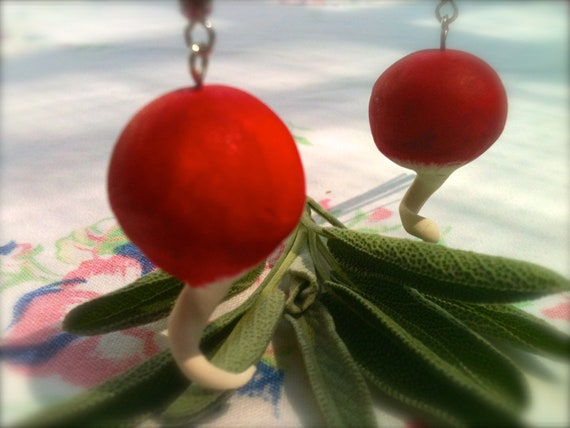 Luna Lovegood Small Radish Earrings