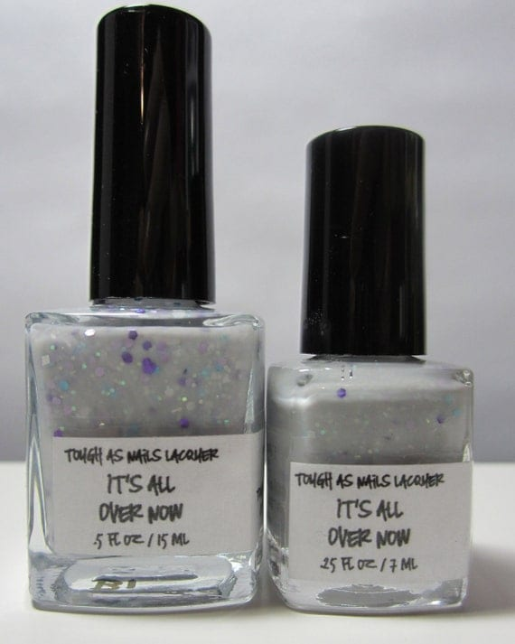 It's All Over Now SHORTY (.25 fl oz/7 ml) Handmade Nail Lacquer