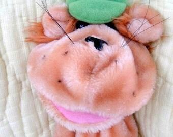 1980s Bear-like Plush Hand Puppet