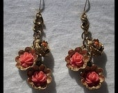 Vintage Rose Earrings