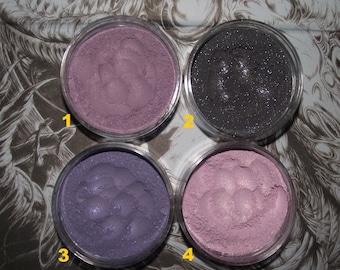 Lovecraft Collection Eyeshadows Purple Black Lipgloss Black Nail Polish Organic Vegan Ships Priority Mail
